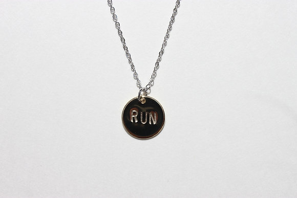Run Charm Necklace