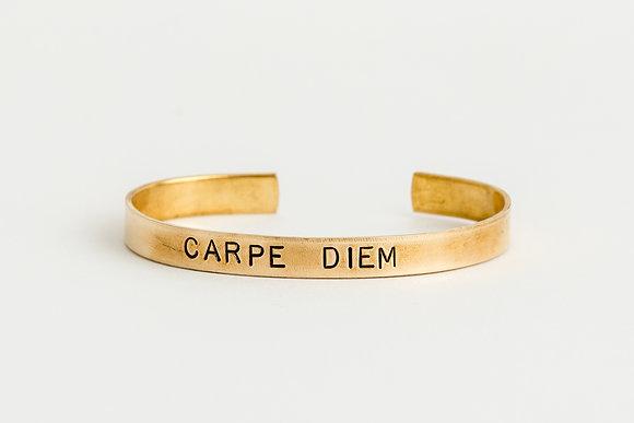 Carpe Diem Cuff Bracelet