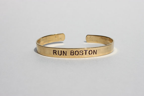 Run Boston Cuff Bracelet
