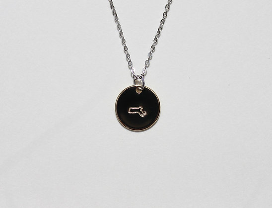 Massachusetts Charm Necklace