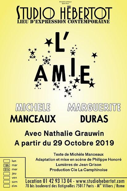 affiche - L'Amie