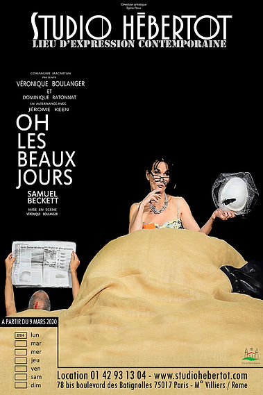 Affiche - Oh Les Beaux Jours