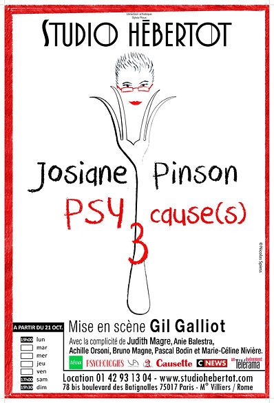 Affiche Psy Cause(s)3