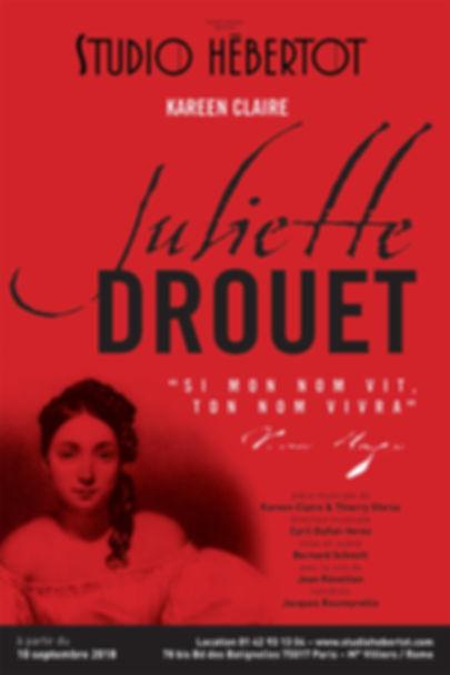Affiche Juliette Drouet