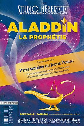 Affiche - Aladdin la prophétie