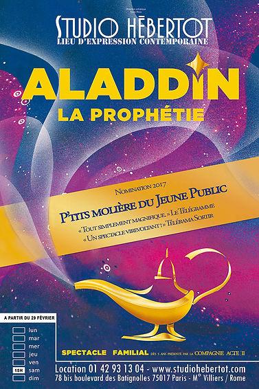 Affiche - Aladdin, la prophétie