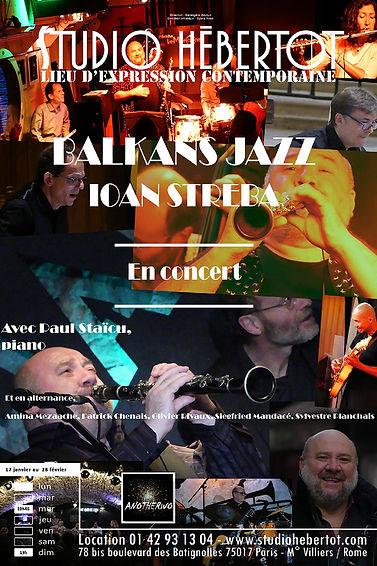 Affiche - Balkans Jazz
