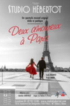 Affiche - Deux Amoureux à Paris