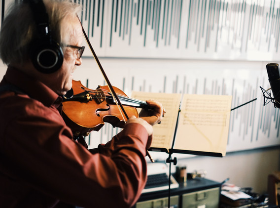 Recording Sarah Straub