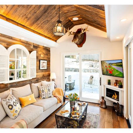 Garage Complete Renovation & Transformation to a Cozy Cottage-Wellesley MA Project
