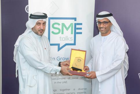 Mr. Walid Hareb Al Falahi, CEO, Dubai Consultancy  Mr. Fahim Al-Zubaidi, CEO and Co-Founder, Akshaak Platform