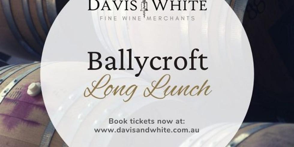 Ballycroft Barossa Long Lunch with Joe Evans (Mooloolaba)