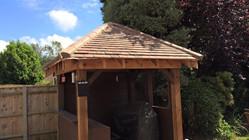 Tiled Oak Building Holbury