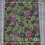Thumbnail: Fabric by the Yard: Green, Pink, and Black Leaves African  Ankara Fabric