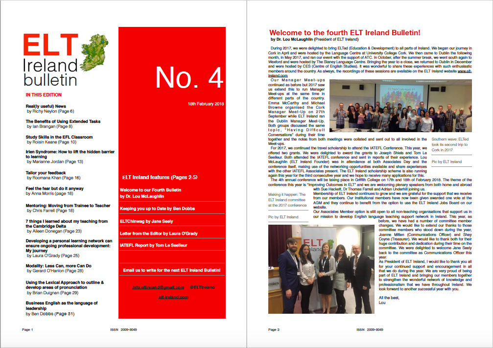 ELT Ireland Bulletin No 4