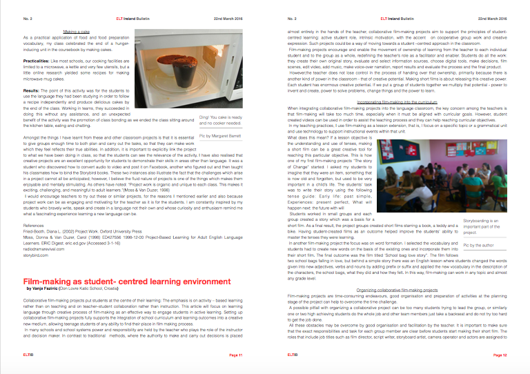 ELT Ireland Bulletin No. 2