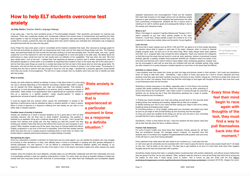 ELT Ireland Bulletin No 5