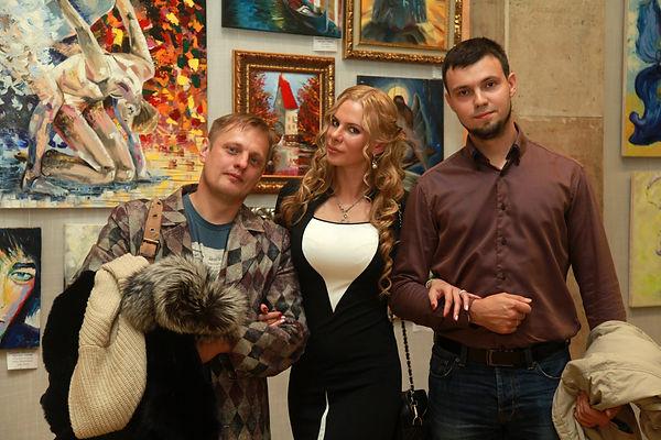 евгений тюрин кирилл кухарчук тамара лунгрен цдх выставка