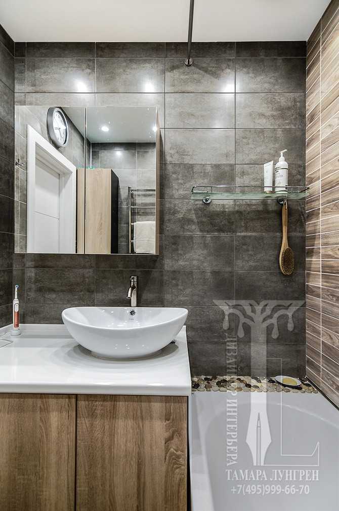ЭКО интерьер ванной