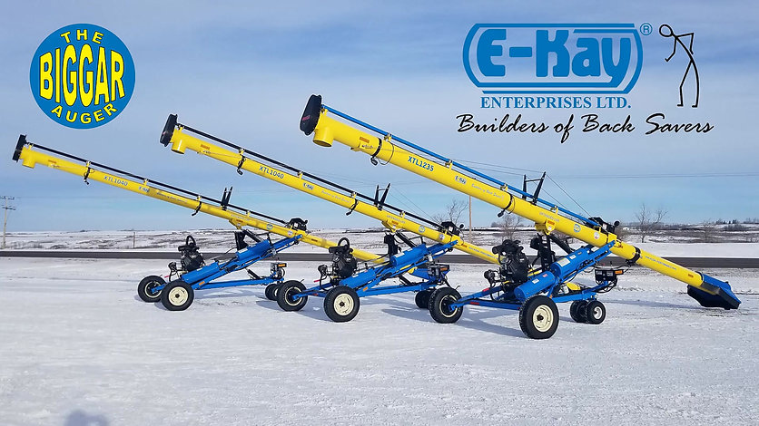 Find out what makes the E-Kay XTL Grain Auger the most unique on the market.