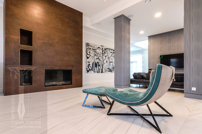 Living in Open Space Interior