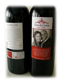 Caja de Vino + Vino + Etiqueta Vino
