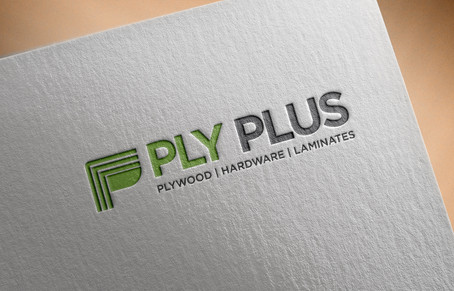 Free Logo Mockup PSD on Textured paper.j