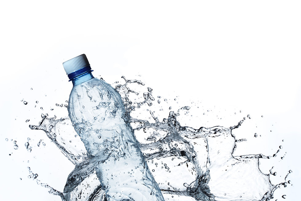 plastic bottle in water splash.jpg
