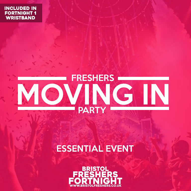 The Freshers Moving In Party