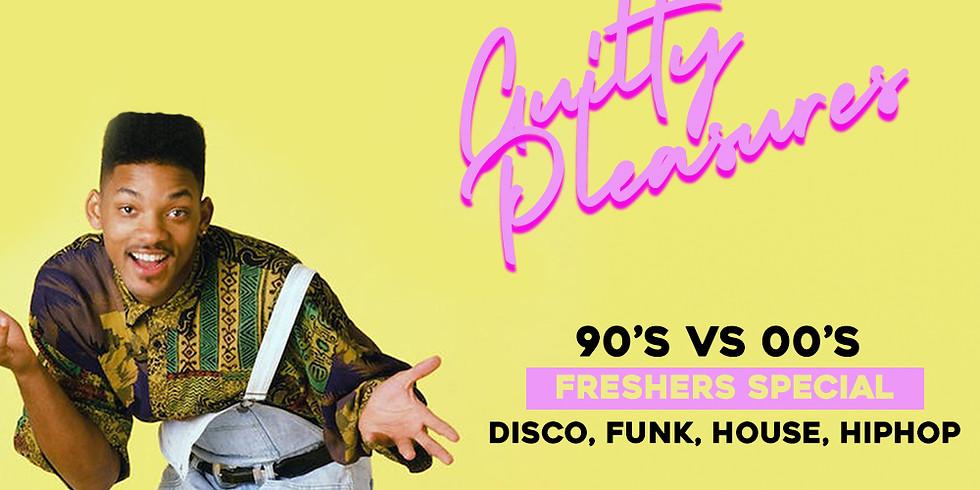 Guilty Pleasures 90's vs 90's