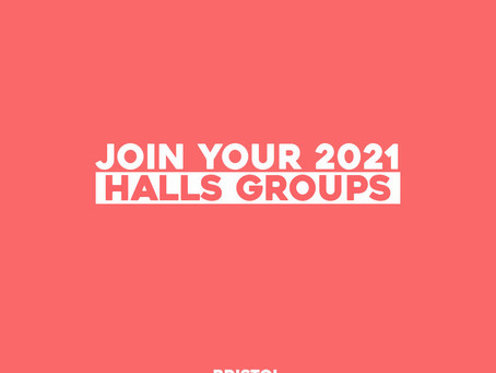 Join your 2021 halls Group
