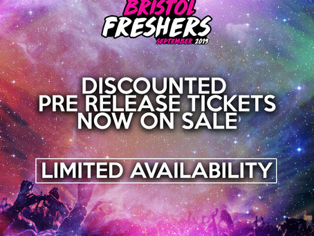 Discounted pre release tickets now on sale!