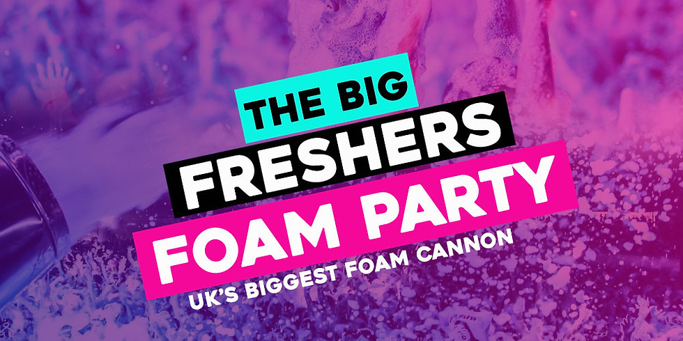 The Big Freshers Foam Party