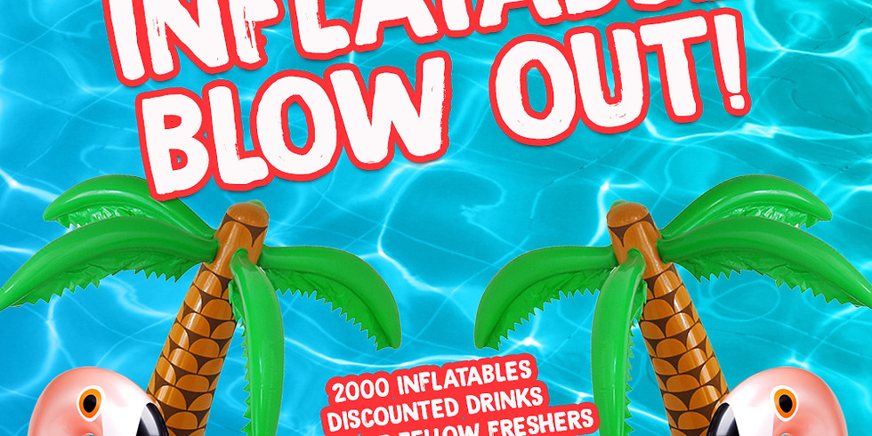 Inflatable Blowout!