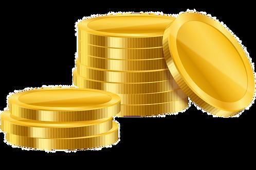 1600 Coins