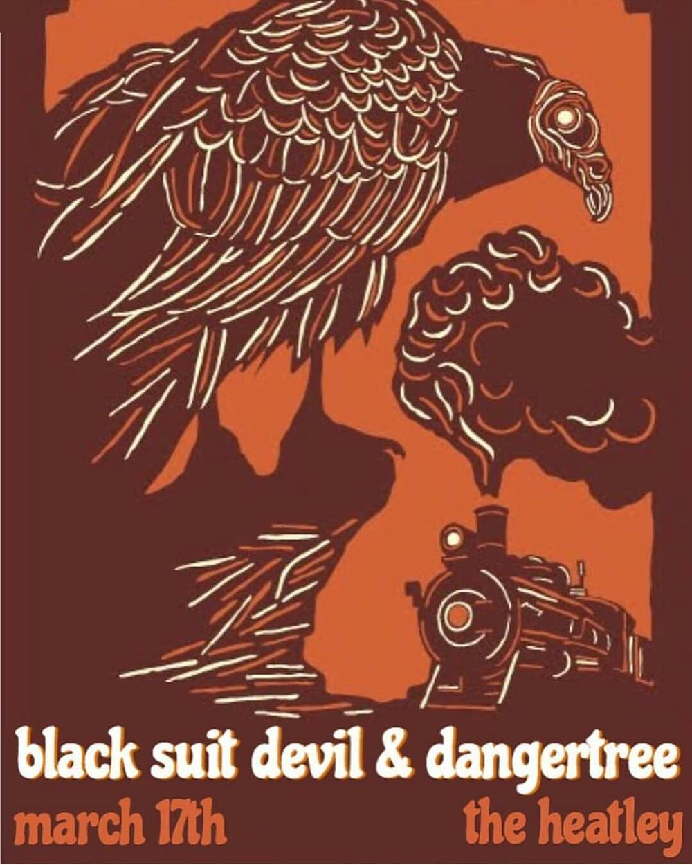 Black Suit Devil Poster