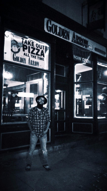 Black Suit Devil at Golden Arrow Pub