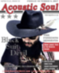 Black Suit Devil Magazine Style CD Relea