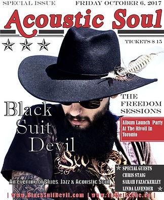 Black Suit Devil Magazine Style CD Relea