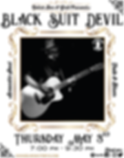 Black Suit Devil at Relish Poster