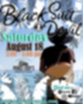 Black Suit Devil Prince Eddy's Poster