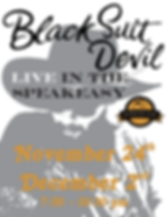 Black Suit Devil at Agrarian Dec Poster