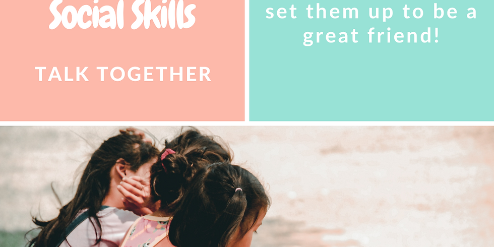 Pre-School Social Skills Group - Rolleston