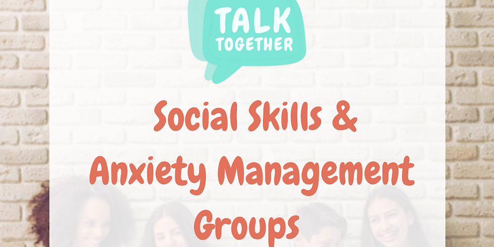 Term 1 Online 11-17yr: 6-week Social Skills & Anxiety Management Group