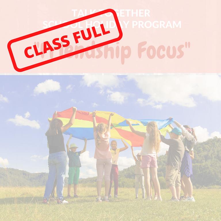 "July Holiday Program Rangiora 5-12yr: 2 Day ""Friendship Focus"""