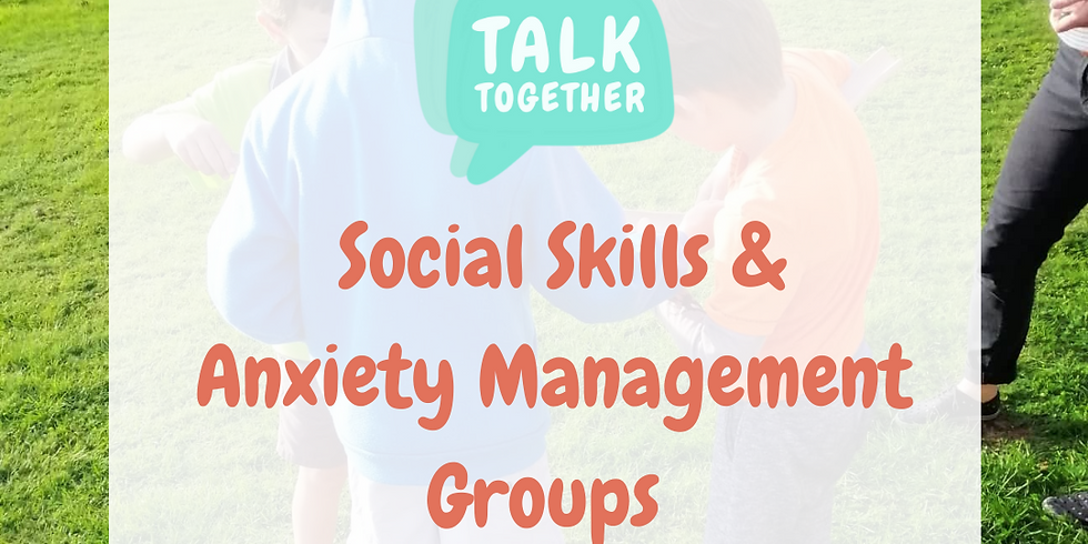 Term 1 Online 5-10yr: 6-week Social Skills & Anxiety Management Group