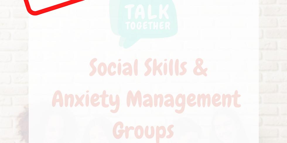 Term 2 Rolleston 11-17yr: 6-week Social Skills & Anxiety Management Group
