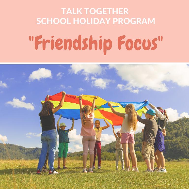 "July Holiday Program Rolleston 5-10yr: 2 Day ""Friendship Focus"""