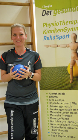 Sarah Becker Physiotherpeutin