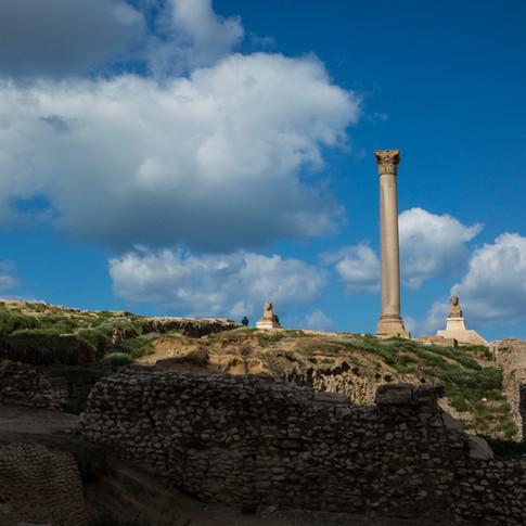 Pompey's Pillar   Alexandria, Egypt